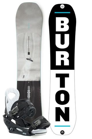 Komplet Snowboardowy Dziecięcy Deska Wiązania Burton Process Smalls 138