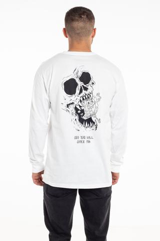 Longsleeve Vans X Spongebob Gigliotti Skulls