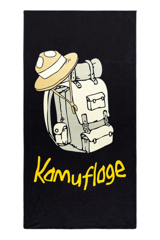 Ręcznik Kamuflage Mikrofibra Scout