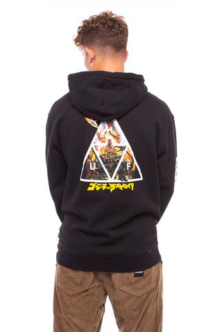 Bluza Kaptur HUF X Godzilla Triple Triangle
