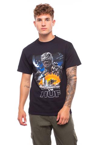 Koszulka HUF X Godzilla Tour