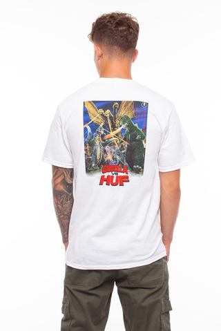 Koszulka HUF X Godzilla Destroy All Monster