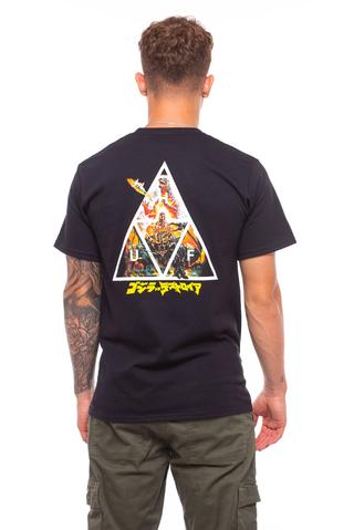 Koszulka HUF X Godzilla Triple Triangle