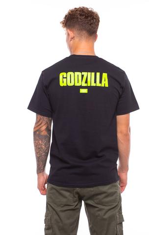Koszulka HUF X Godzilla Bar Logo