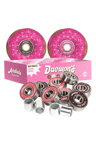 Łożyska i Wosk Andale Daewon's Donut Wax Pro Bearings
