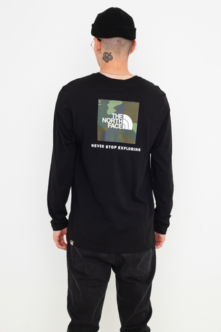 Longsleeve The North Face Red Box
