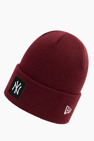 Czapka Zimowa New Era New York Yankees Team Logo Cuff