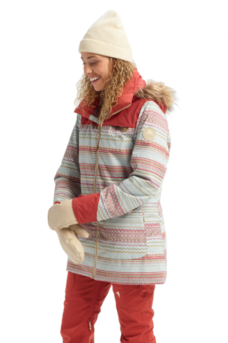 Kurtka Snowboardowa Damska Burton Lelah