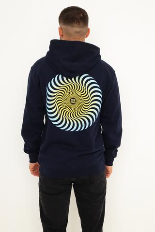 Bluza Kaptur Spitfire Classic Swirl Fade