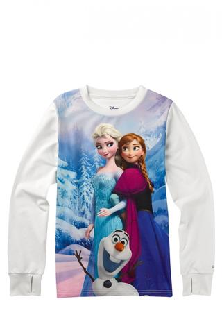 Dziecięcy Longsleeve Termoaktywny Burton Disney Frozen Tech Tee