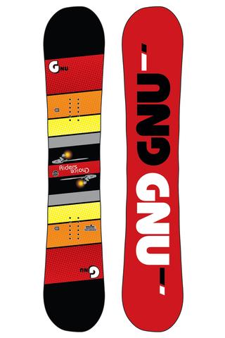 Deska Snowboardowa Gnu Asym Rider's Choice C2X 157.5