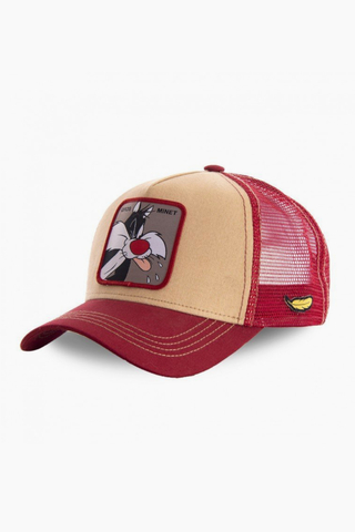Czapka Capslab X Looney Tunes Gros Minet Trucker