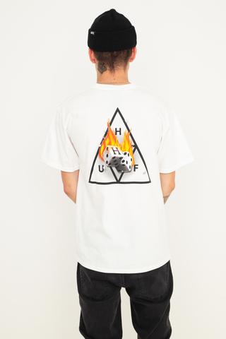 Koszulka HUF Hot Dice Triple Triangle