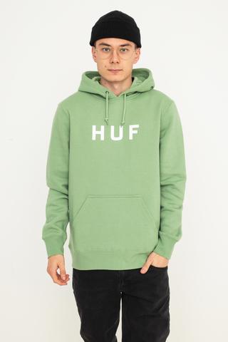 Bluza Kaptur HUF Essentials OG Logo