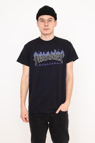 Koszulka Thrasher Godzilla Charred Logo