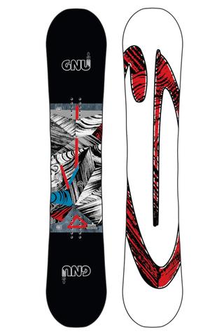 Deska Snowboardowa Gnu Asym Carbon Credit BTX 156