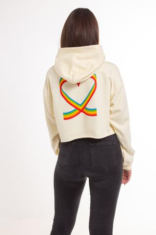 Bluza Kaptur Damska Local Heroes X Polaroid Ribbon Heart