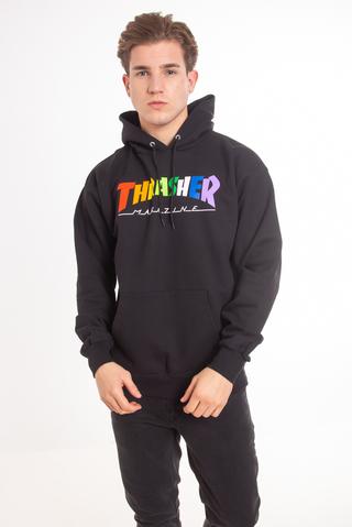 Bluza Kaptur Thrasher Rainbow