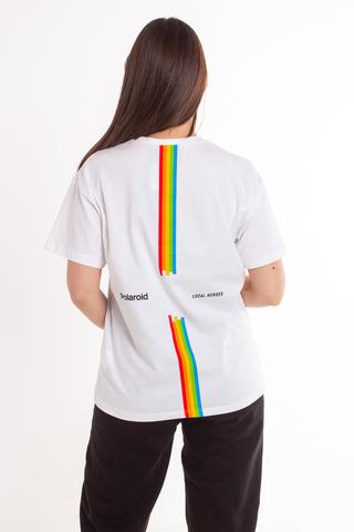 Koszulka Damska Local Heroes X Polaroid Ribbon