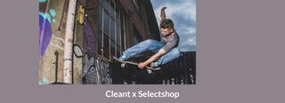 Cleant x Selectshop