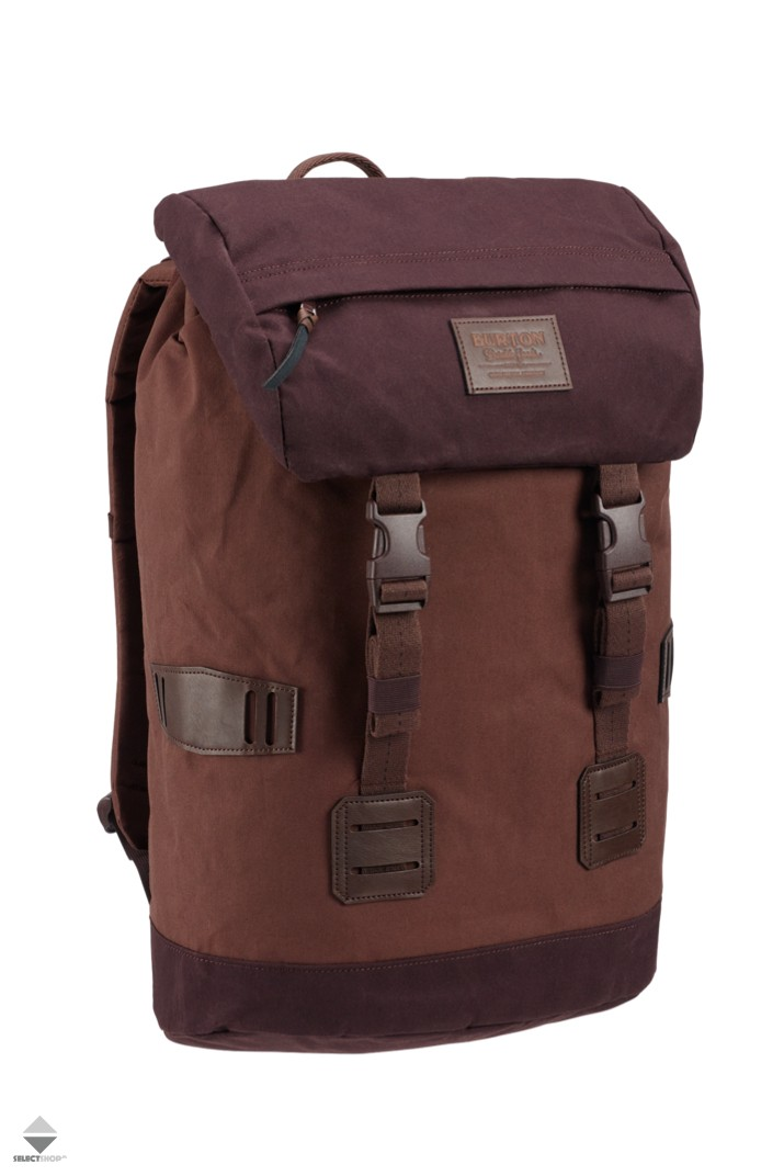 c7cfb696eddb2 Plecak Burton Tinder Pack 25L 16337106205 Cocoa Brown Waxed Canvas