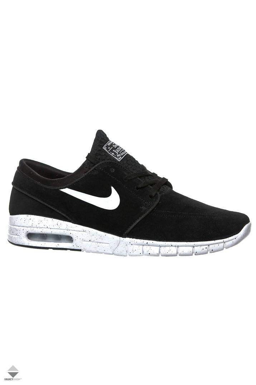 9e6b296d344e Buty Nike Stefan Janoski Max L Black White Noir 685299-002