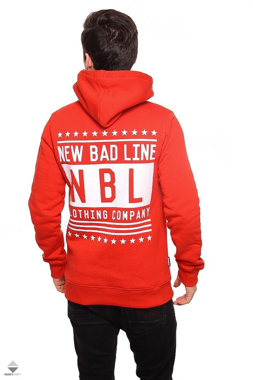 czerwona bluza nbl