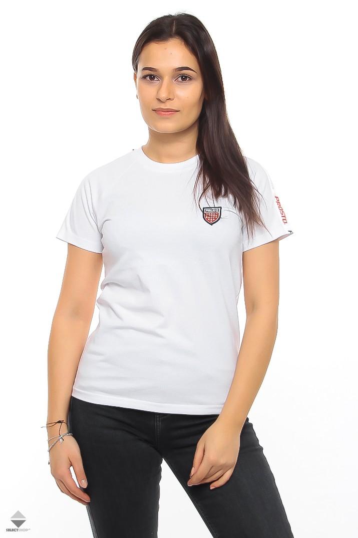 6eeffcefc Koszulka T-shirt Damska Prosto Jaquie White 7579