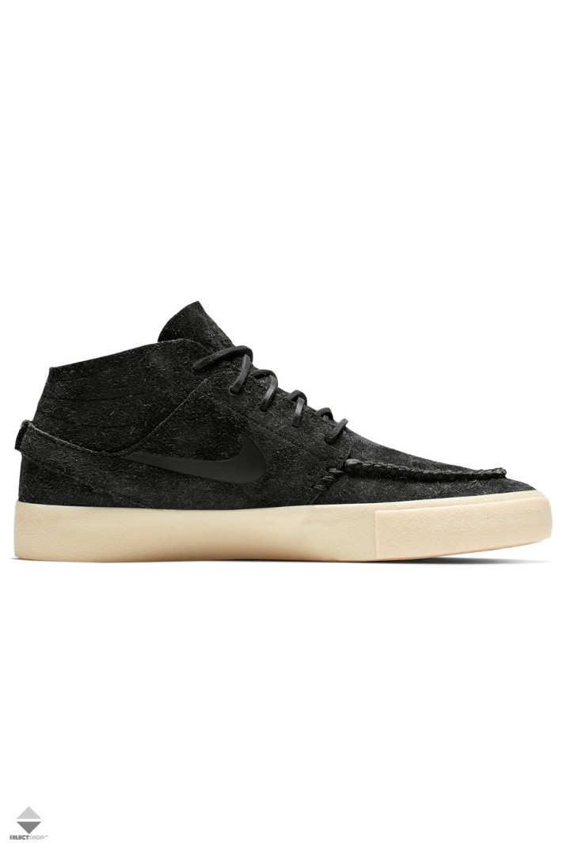 Buty Nike SB Zoom Janoski Mid Crafted AQ7460-001 BLACK BLACK-GOLDEN ... e7456a56e7858