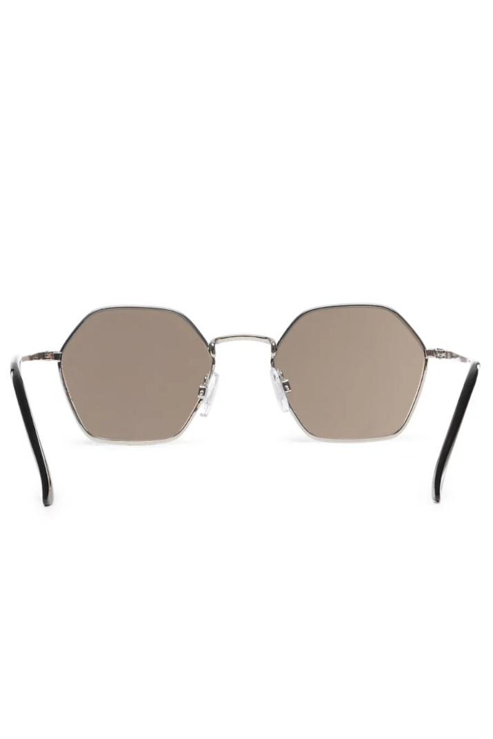 Okulary Vans Right Angle VN0A4DSZVB5 Silver Blue Mirror Lens