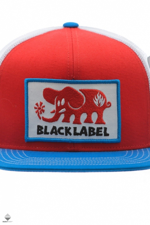 b2c975af960 Czapka Black Label Elephant Patch Red Blue