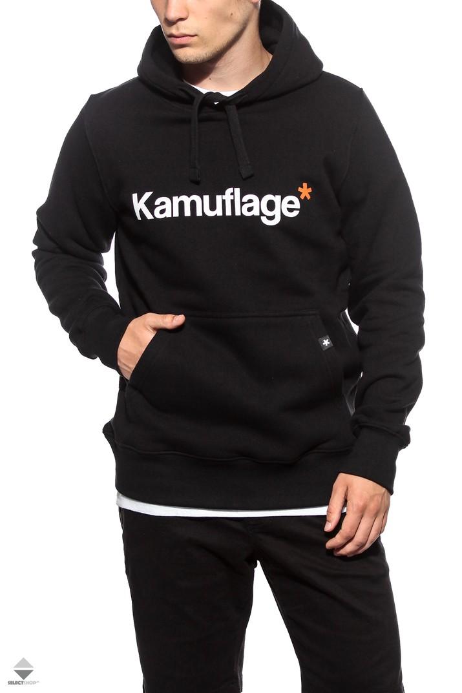 bluza kamuflage męska czarna