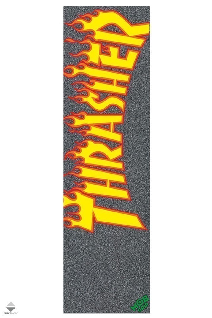 Grip Mob Skateboards x Thrasher Flame Logo