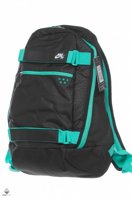 13aa744f65893 Plecak Nike SB Embarca Black Green BA4686-031