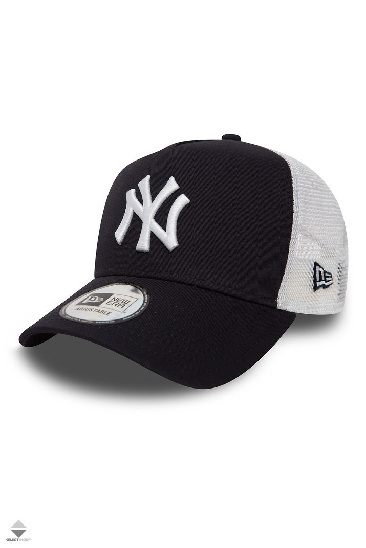 530028dbdee Czapka New Era New York Yankees Clean A Frame 11588489 Navy White