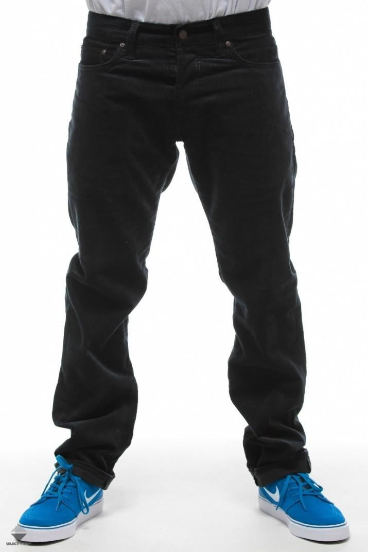 spodnie carhartt klondike pant ii tapered fit navy i017779. Black Bedroom Furniture Sets. Home Design Ideas