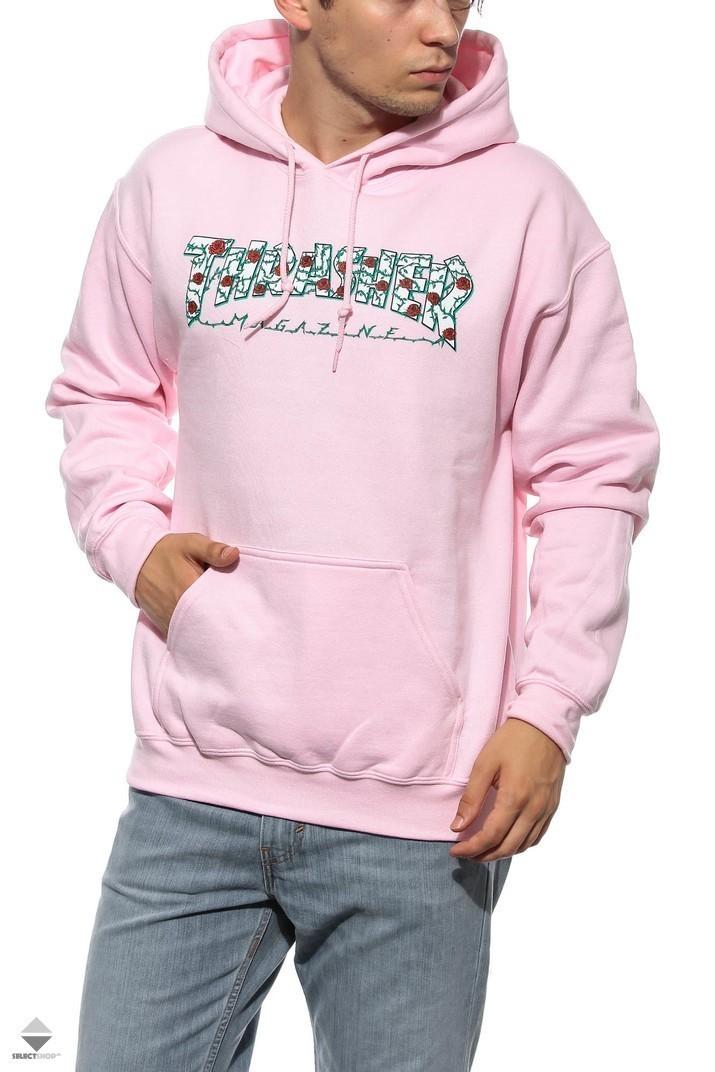 Bluza Kaptur Thrasher Roses Pink 144520 d3af5f9a85