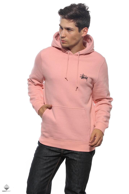 stussy różowa bluza