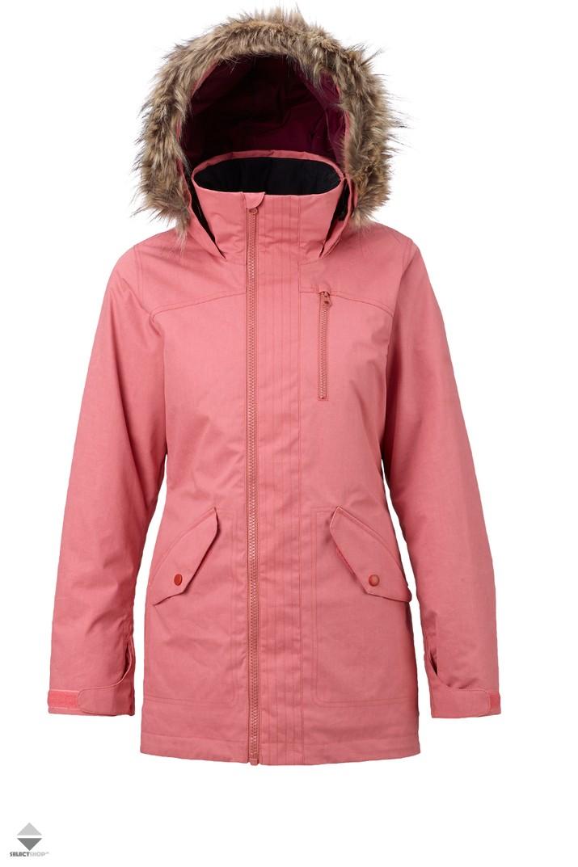 63c54c52880c3 Kurtka Snowboardowa Damska Burton Hazel Dusty Rose Wax 15014102601