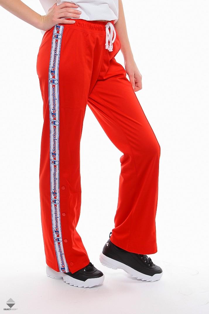 spodnie dresowe rozpinane po bokach damskie
