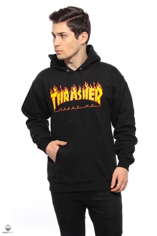 7a5d7521a6c Bluza Kaptur Thrasher Flame