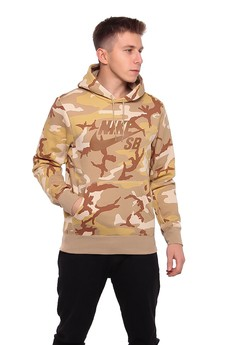 NIKE SB ICON HOODIE Nike men's and women's camouflage