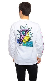 Longsleeve Primitive X Rick And Morty Rick Destructed