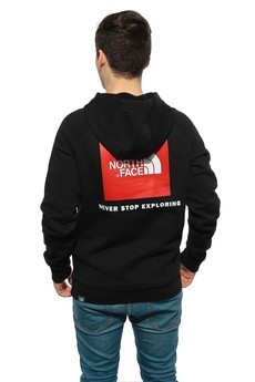 Bluza Kaptur The North Face Raglan Red Box
