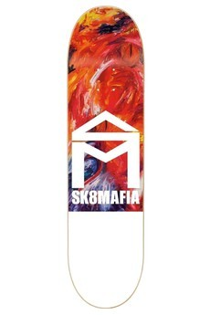 Blat Sk8mafia House Logo Oil Hight