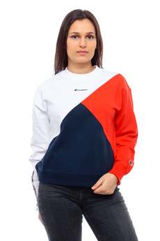 Bluza Damska Champion Crewneck Color Block