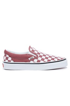 vans slip on checkerboard damskie