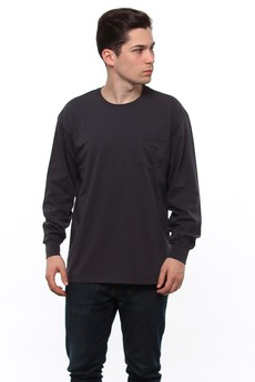 Longsleeve Polar Dyed Pocket