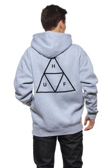 Bluza Kaptur Huf Triple Triangle PO Fleece