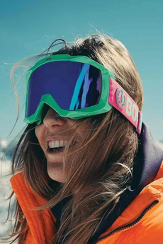 Gogle Damskie Snowboardowe Born On Board Dubble Mint